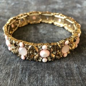 Faux Gemstone Stretchy Bracelet